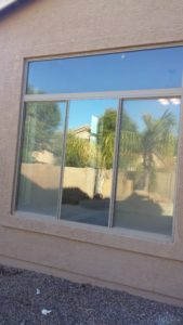 Window replacement job in Mesa Arizona